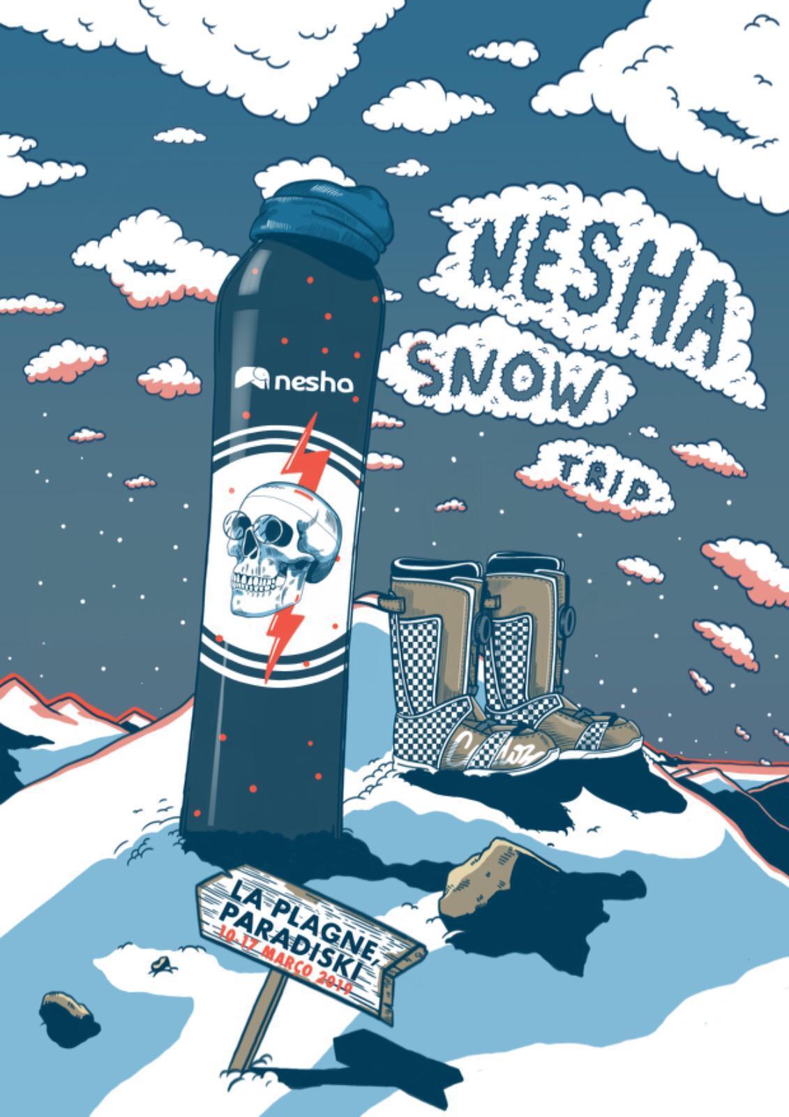 nesha snow trip 2019